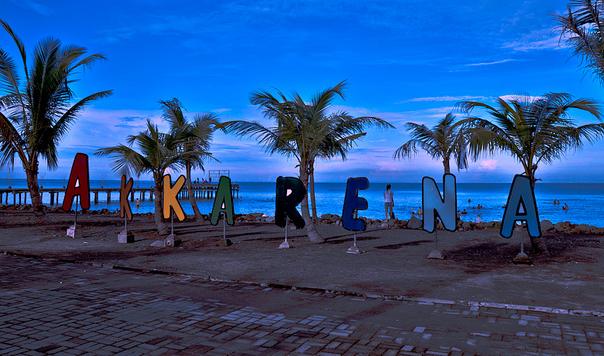 Pantai Akkarena, Makassar