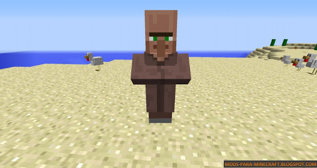 Aldeano - Cubic Villager Mod 1.7.10