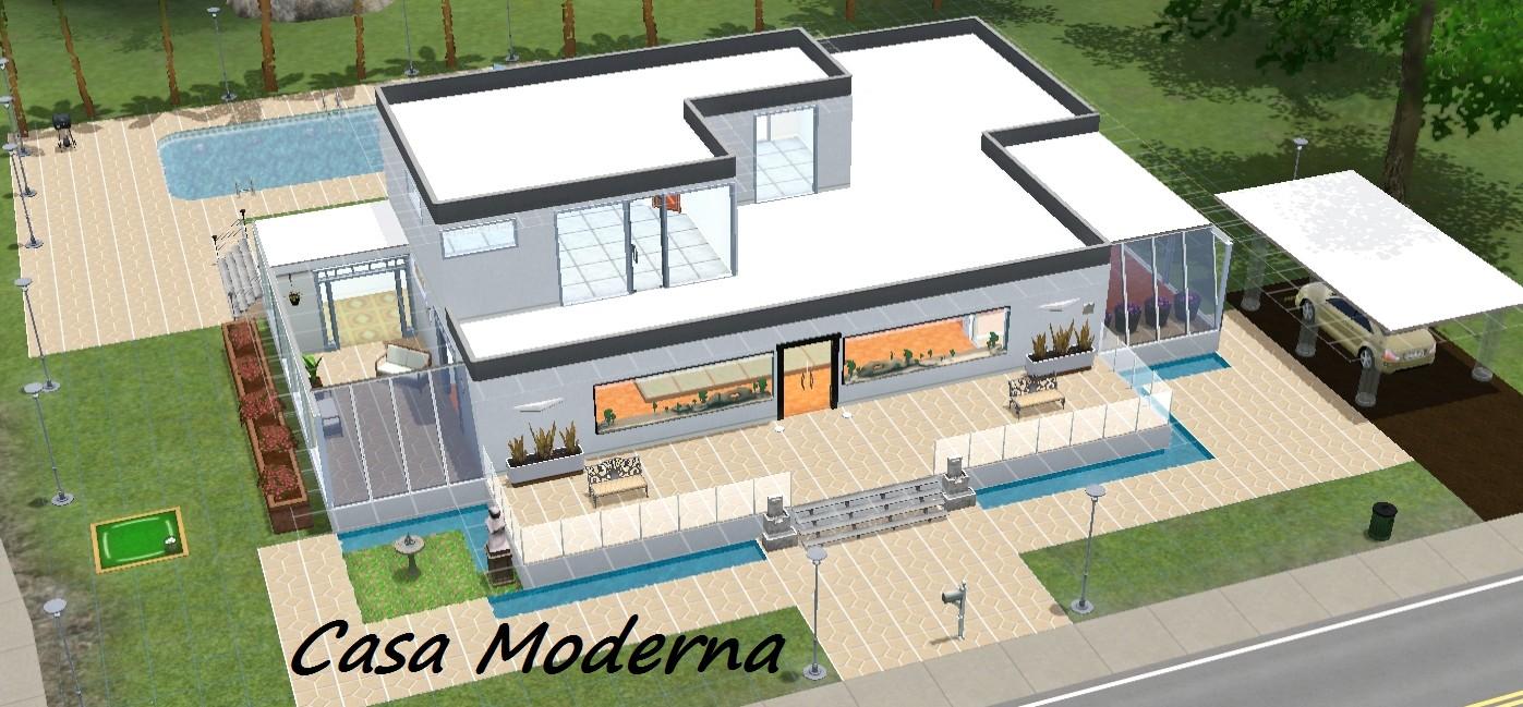 Casa Moderna Somos Sims