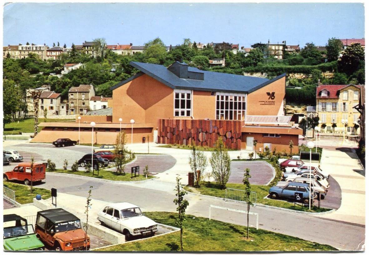 Architectures de cartes postales 2 terre cuite - Chambre de commerce de pontoise ...