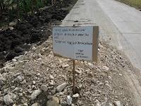 jalan, desa, grobogan, apbd, karangrayung