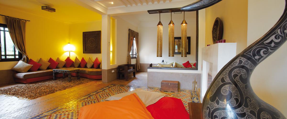 décoration+salon+villa+marocain
