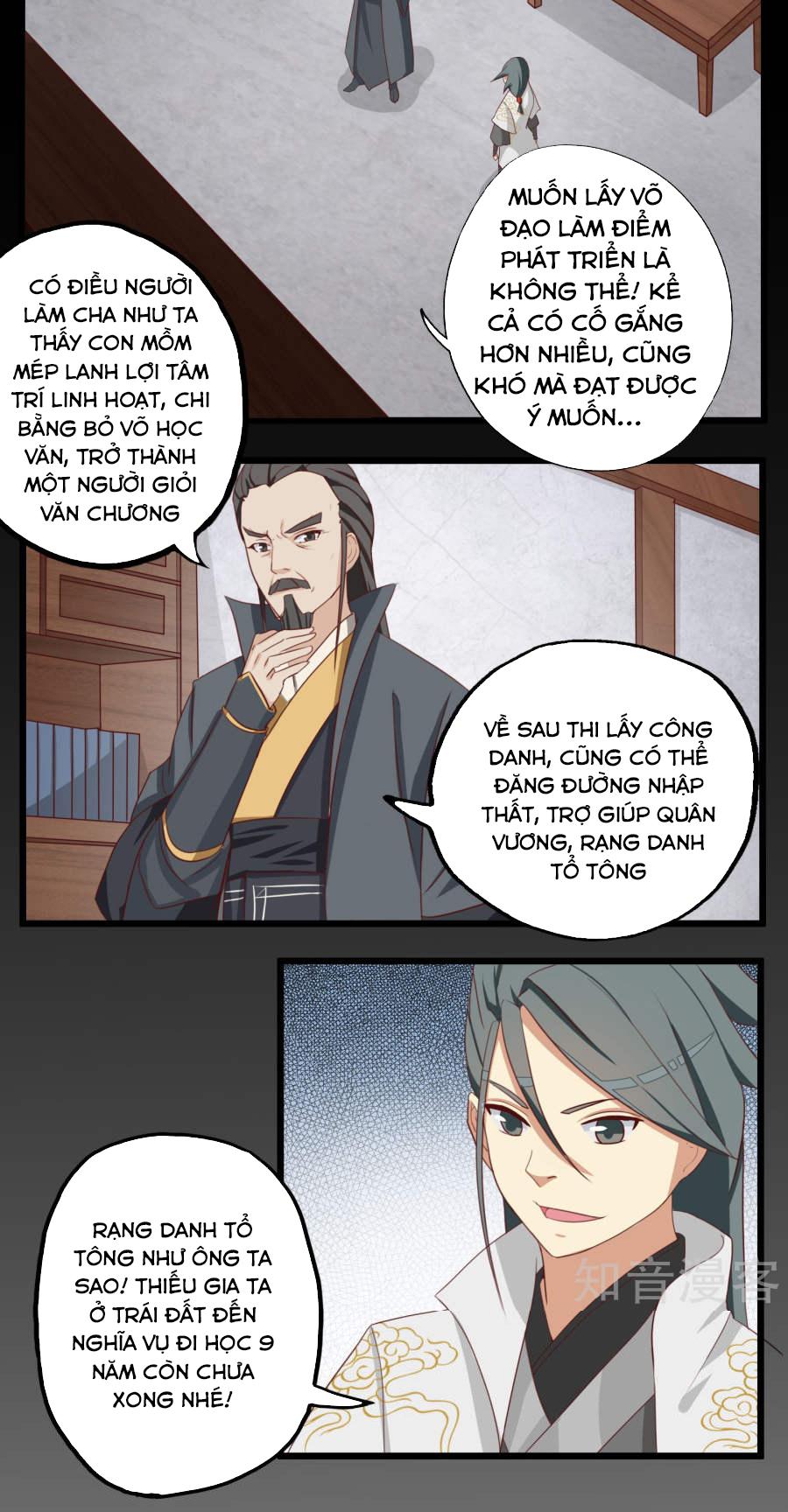 Cuồng Đồ Tu Tiên - Chap 17