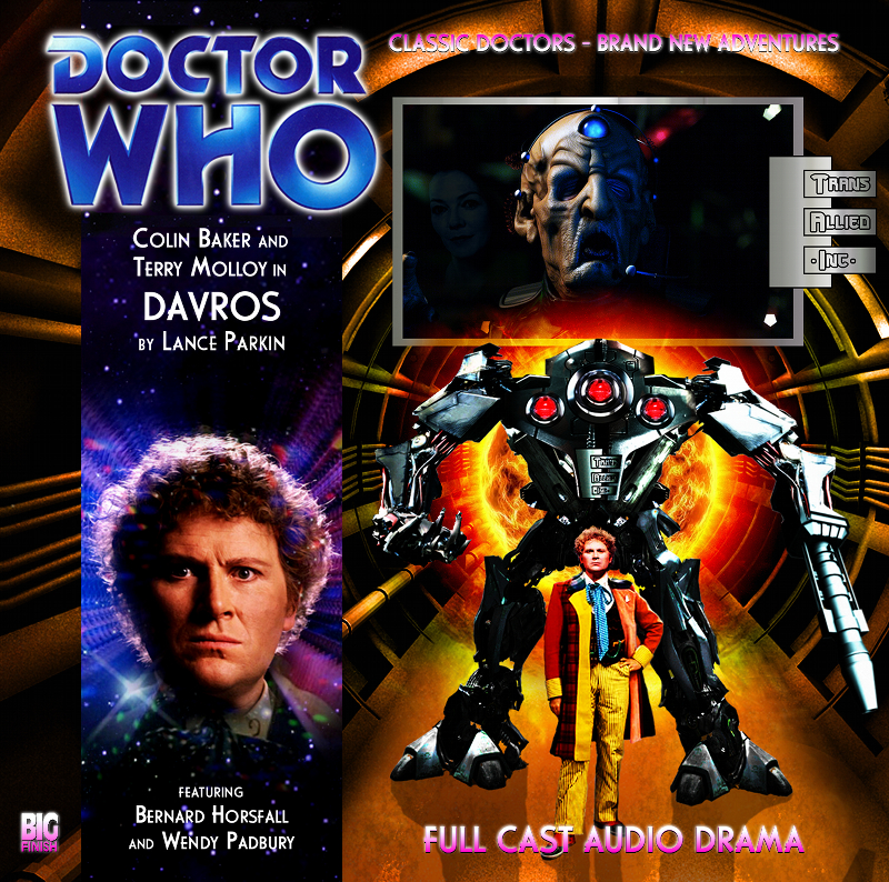 Doc Oho Reviews...: Davros written by Lance Parkin and directed by ...