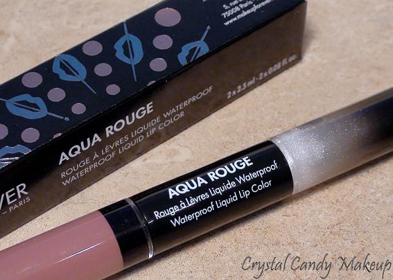 MUFE Aqua Rouge Soft Pink lipstick