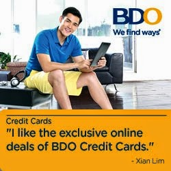 BDO Credit Card Promos