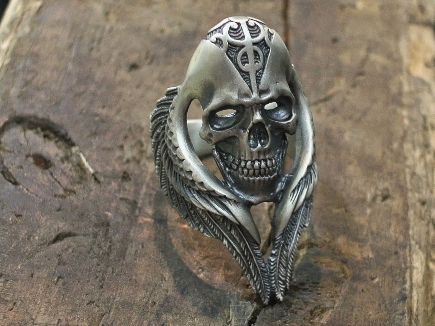 Hell's Angels Ring by 杉山孝博 dual flow - Dress Code Limited