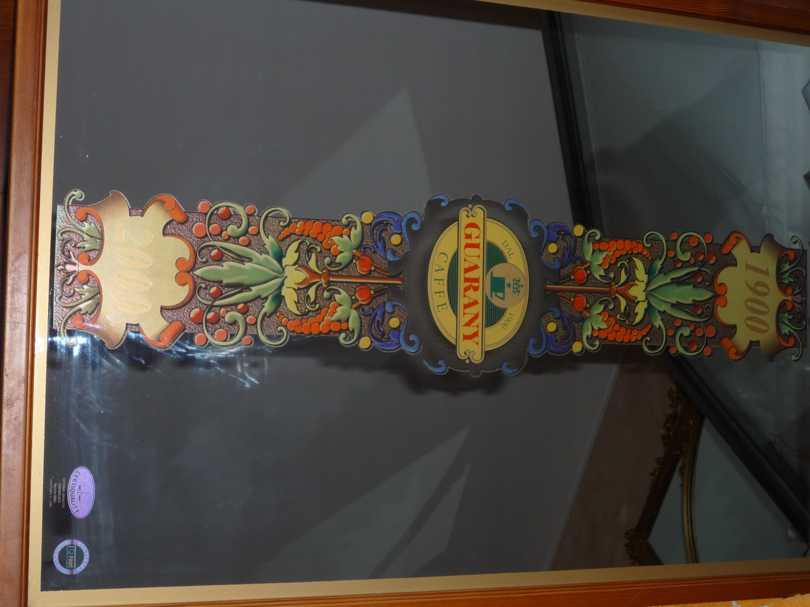 Il mercatino di casa tiraboschi specchio guaranay for Specchio 1900