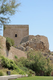 Alfonsina Tower at Lorca Castle