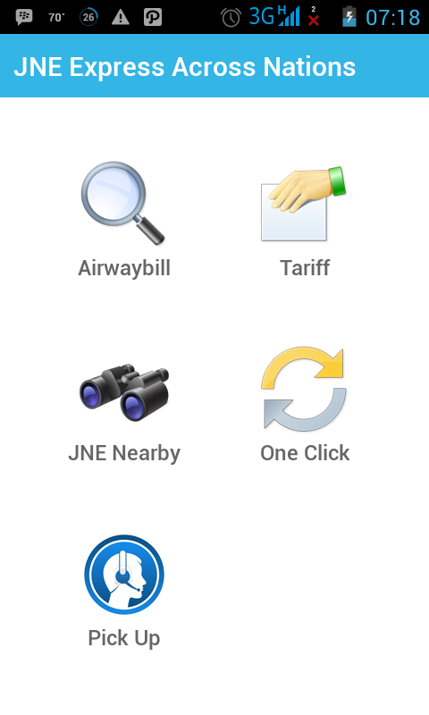 JNE for Android