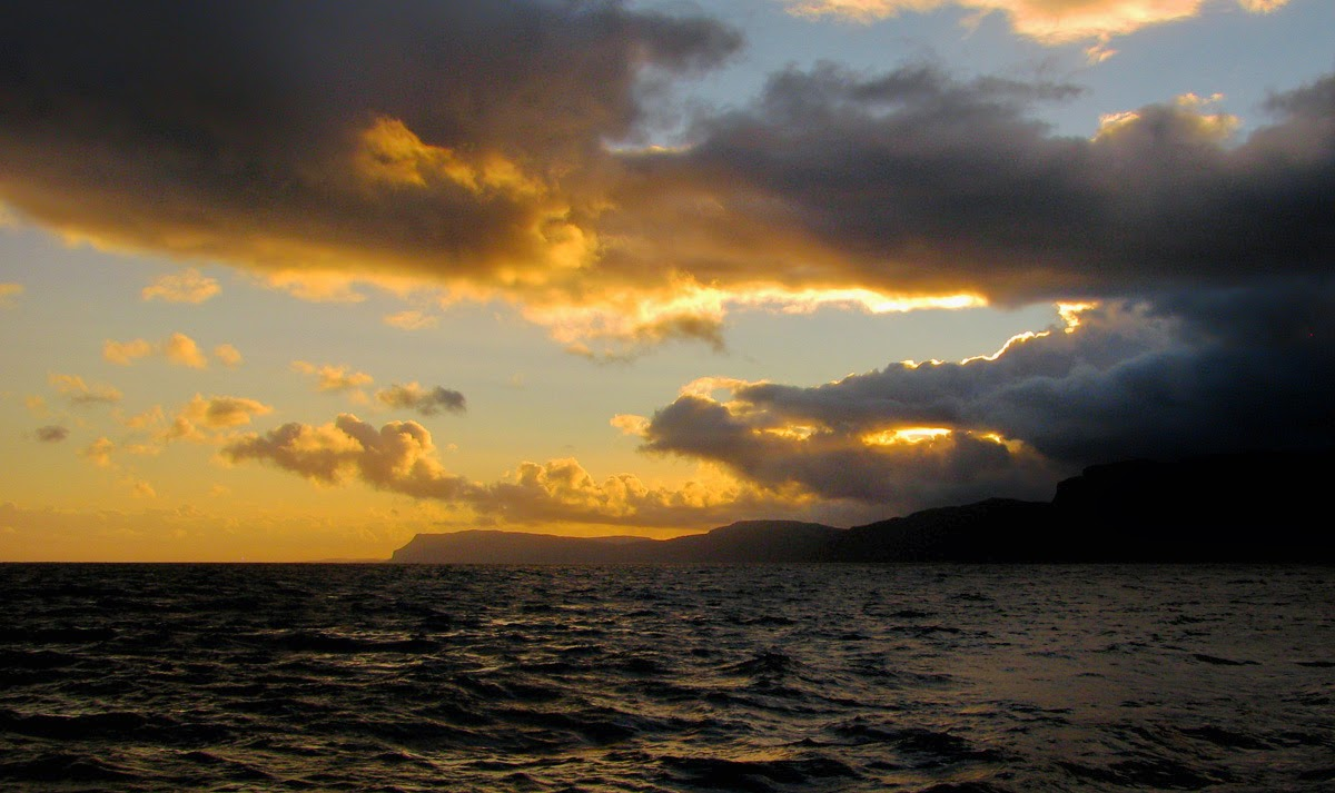 The Sun Sets Over the Ross of Mull