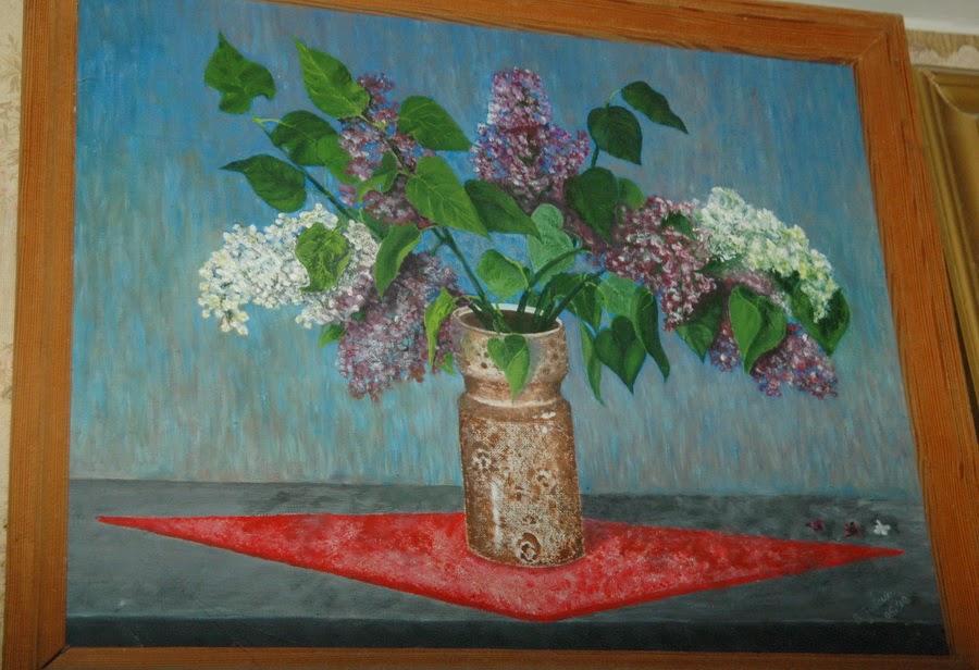 картина Виталия Бабенко Сирень