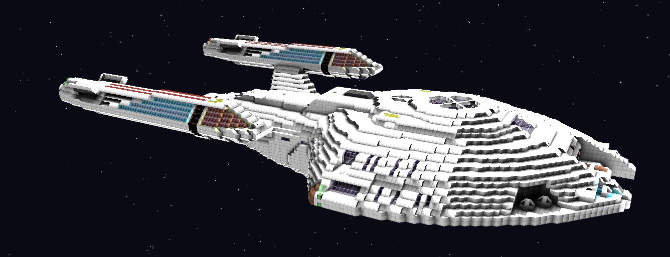 Star Trek Nova Class on Star Trek Starship Parts