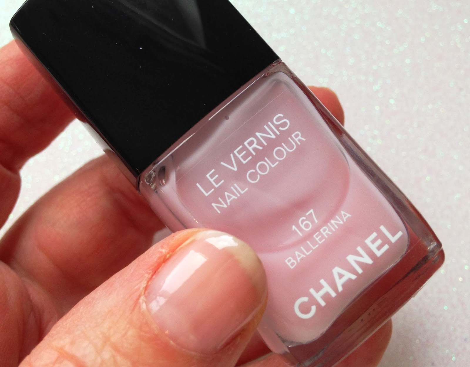 Exceptionnel Moonstone & May: Chanel Le Vernis 167 Ballerina - Re-release of a  TI21