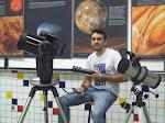 Telescópio Cassegrain, Luneta Galileana e Telescópio Refletor Newtoniano