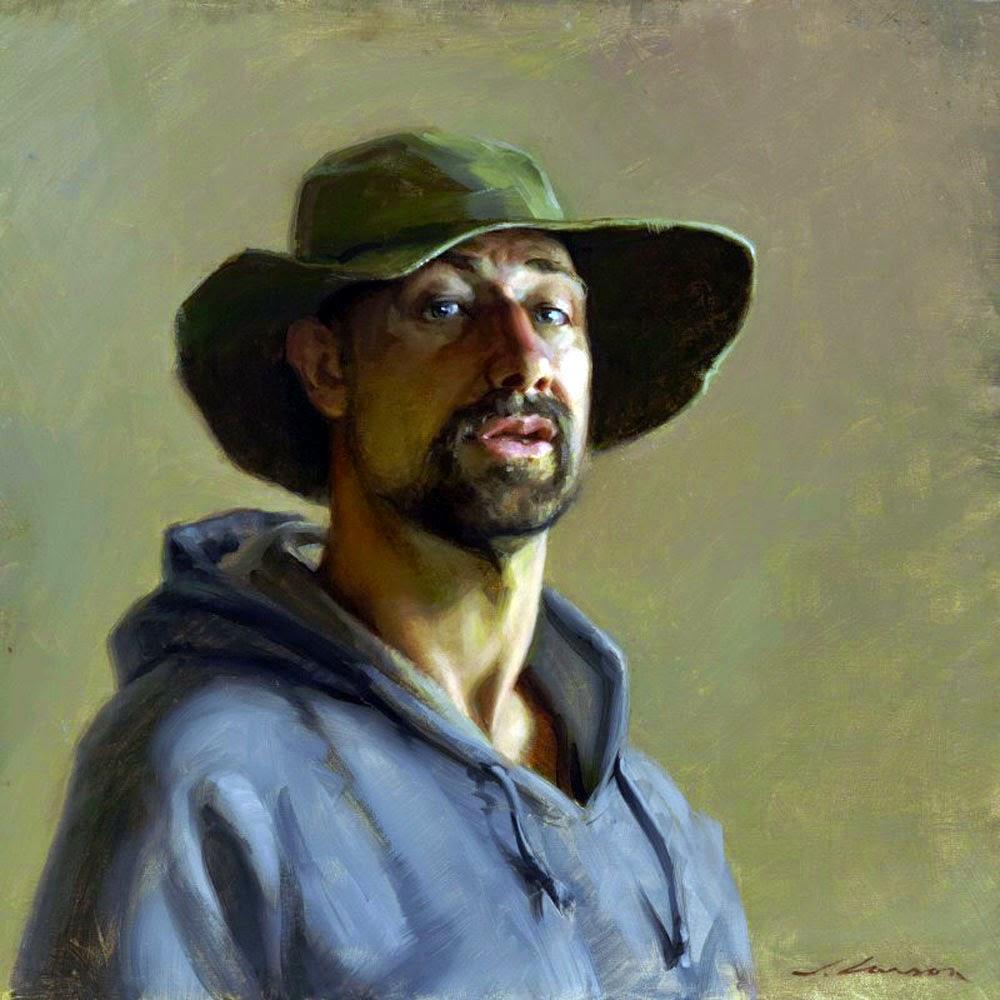 PORTRAITS OF PAINTERS: Jeffrey T. Larson