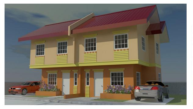 Joy – Two Storey Duplex House in Consolacion Cebu