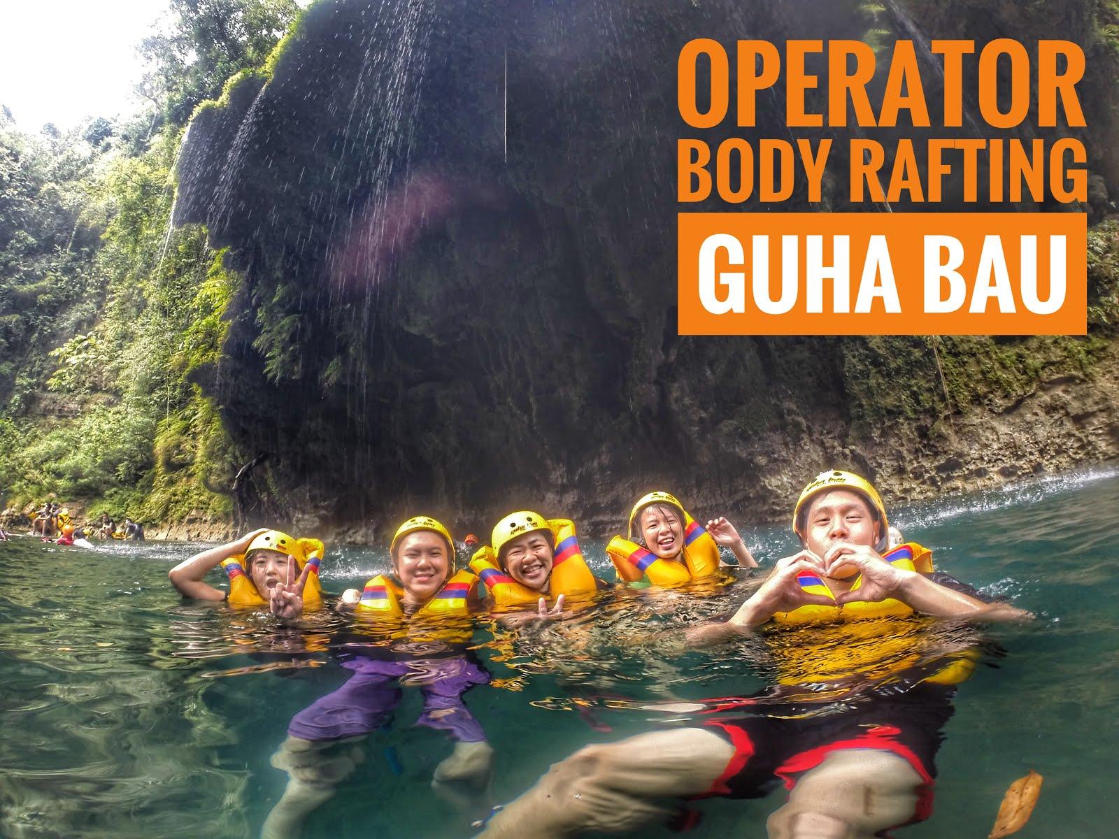 Lokasi Berenang Body Rafting