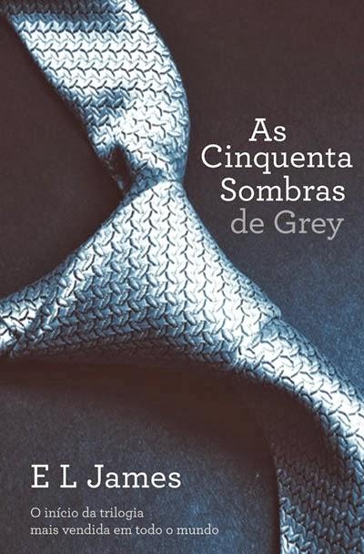 Livro de E. L. James - As cinquenta sombras de Grey
