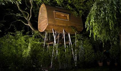 La casa sull 39 albero idea arredo - Casa sugli alberi ...
