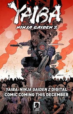 Yaiba: Ninja Gaiden Z (teaser image by Dark Horse)