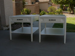 2 Shabby End Tables  *SOLD*