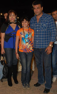 Shaila Chadha with Nimay Bali and their daughter