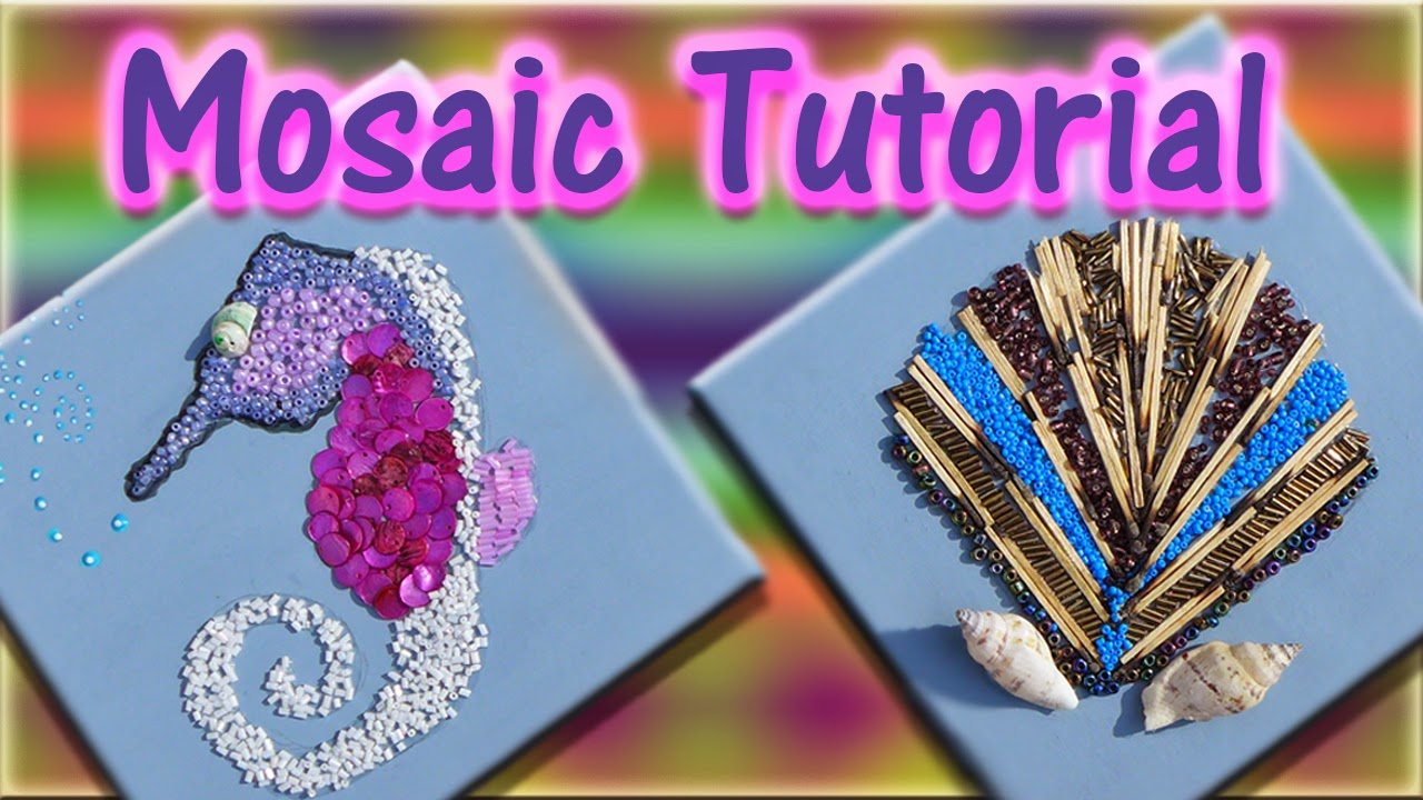 Easymeworld easy mosaics for beginners for Easy crafts for beginners