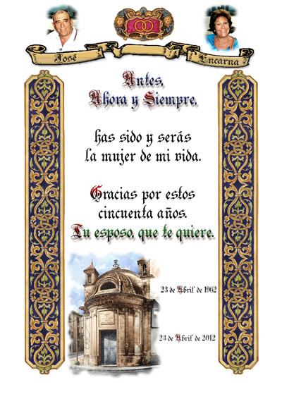 El Diploma, homenaje en forma de Pergamino