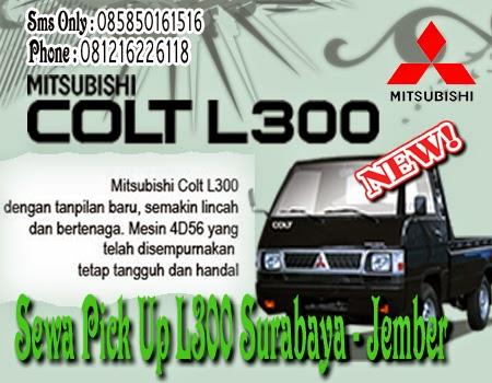 Sewa Pick Up L300 Surabaya - Jember