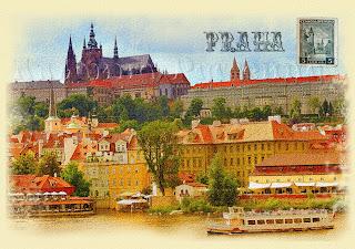Старые почтовые открытки.