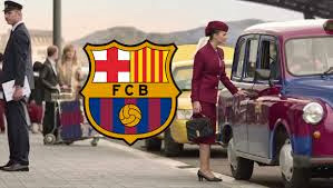 Pub Qatar Airways (vive le FC Barcelone)