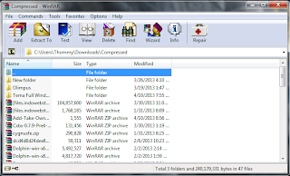 Screenshot Software WinRAR