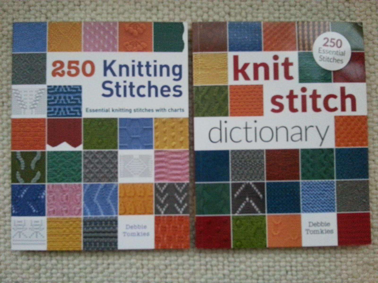 Hue & Dye: New year new book! - 250 Knitting Stitches by Debbie Tomkies
