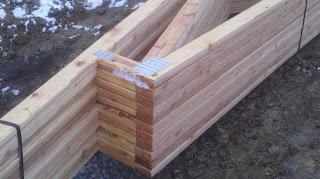 New lizer homestead december 2012 for Clerestory roof truss design