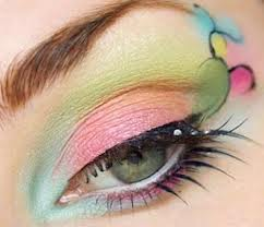 Modern Colorful Eye Makeup