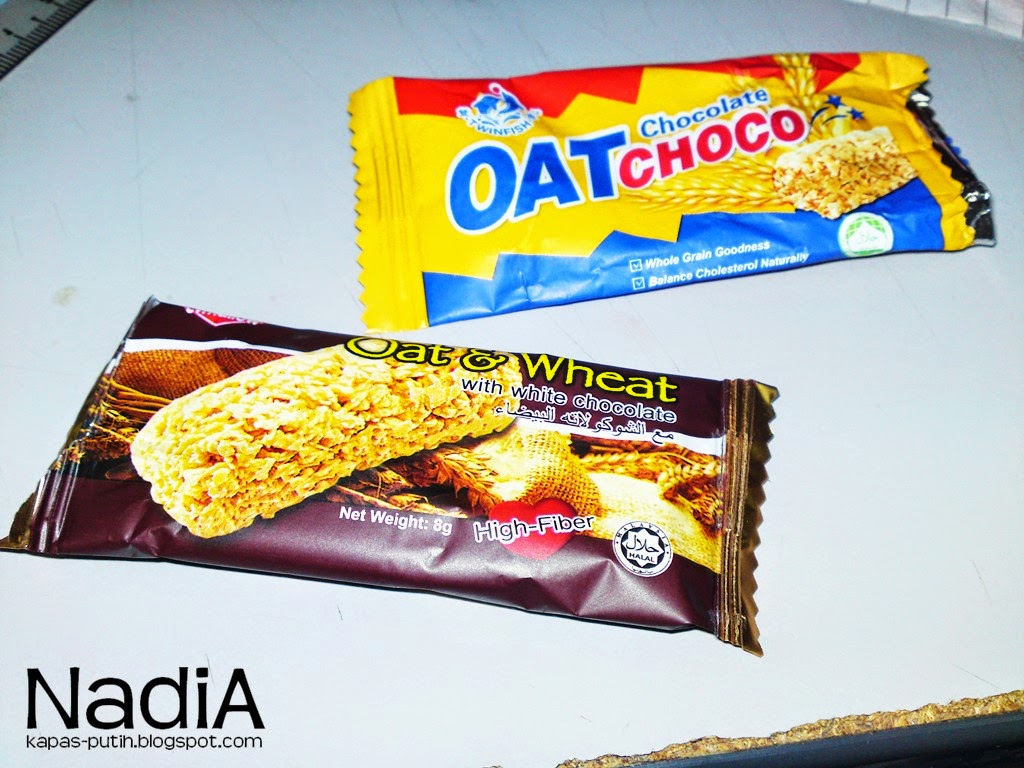 Oat Chocolate Choco or Oat and Wheat with White Chocolate