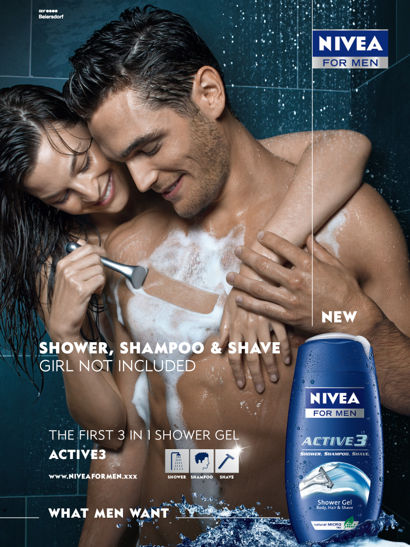 Sexually appealing advertisements