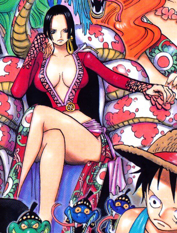 One Piece Shichibukai Boa Hancock by dq 02