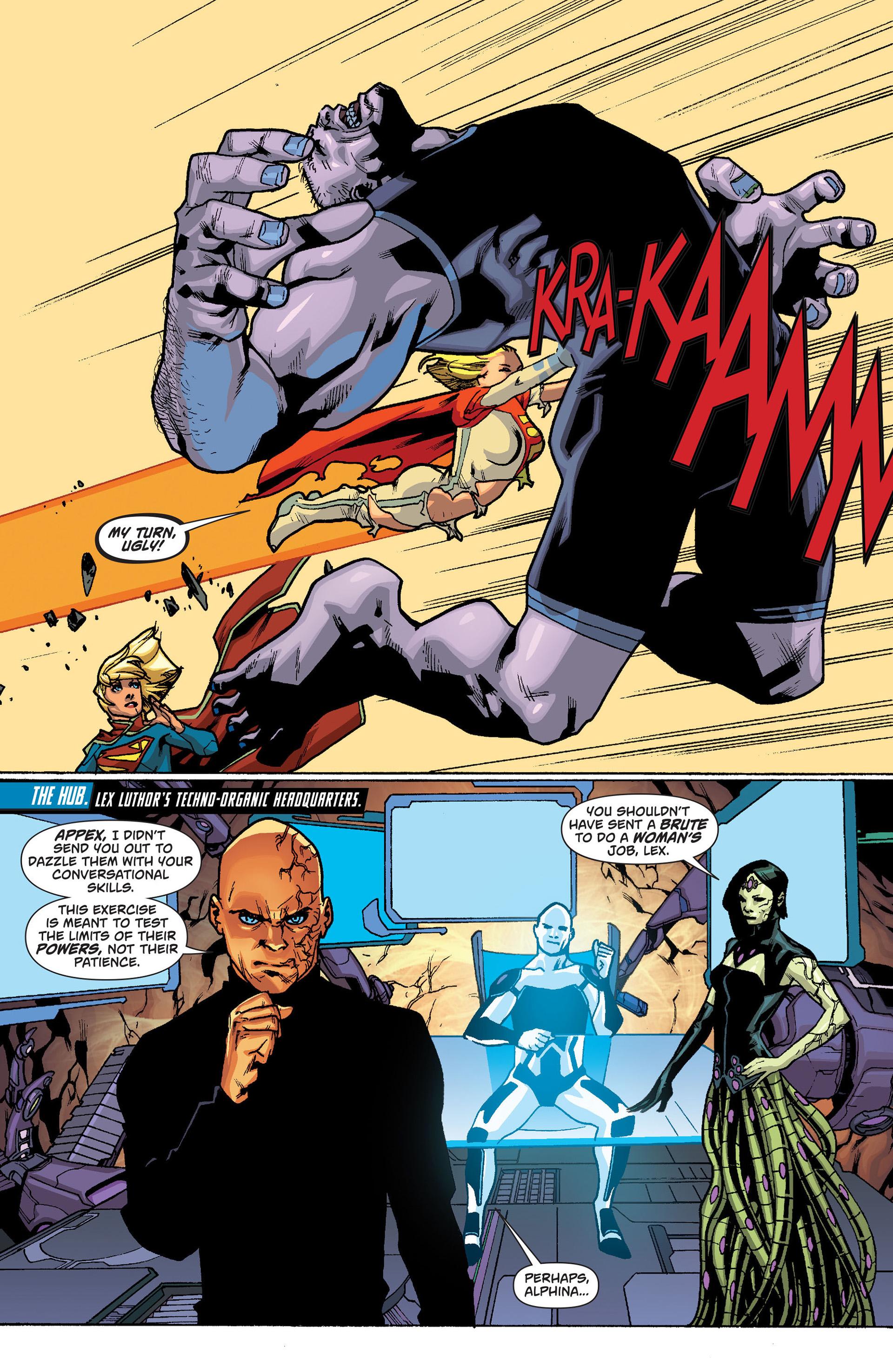 Supergirl (2011) Issue #19 #21 - English 13