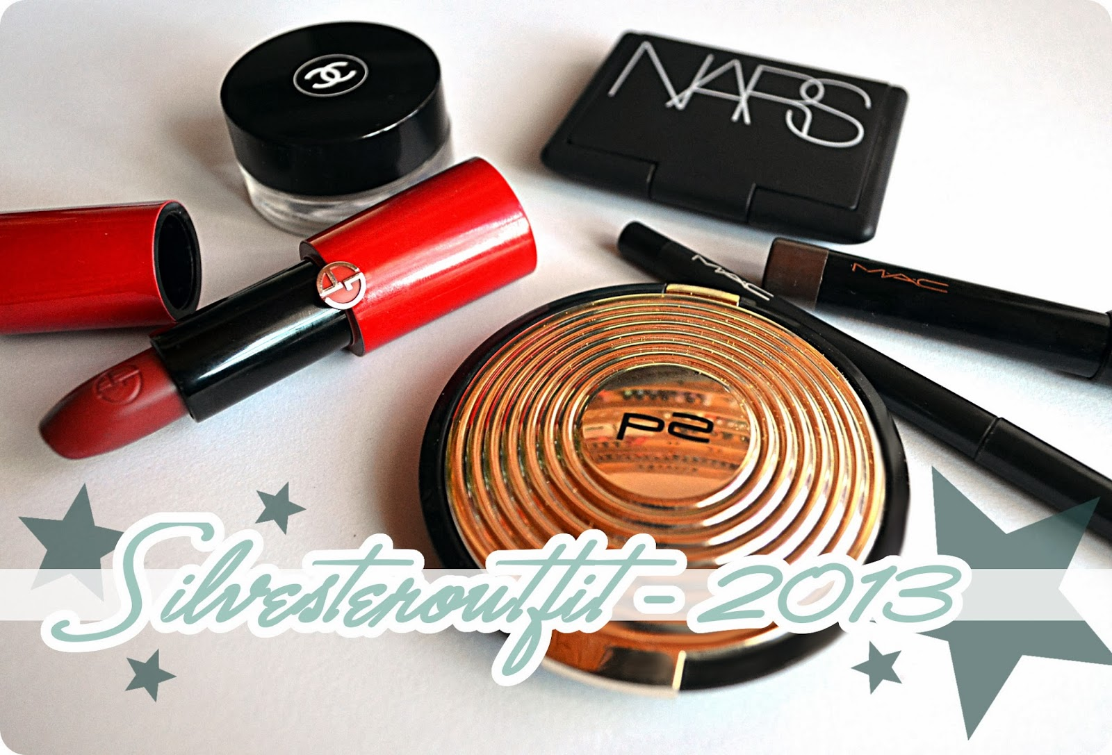 Silvesterblogparade 2013 - Mein Make-up