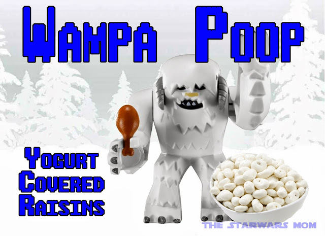 Lego Star Wars Party Wampa Poop Free Printable