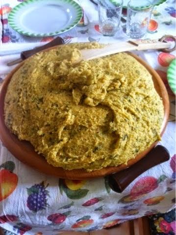 Ho fatto conoscere........la polenta Macafana
