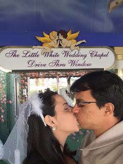 casamento em vegas - the little white wedding chapel