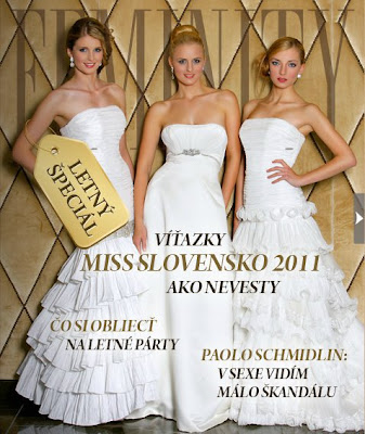 Miss Slovensko 2011 Michaela Nurcikova