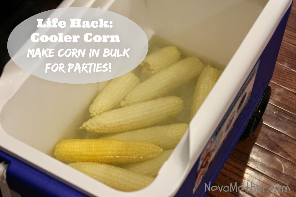 How To Cooler Corn Recipe