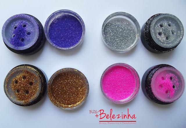 swatch-glitter-dailus-roxo-rosa-dourado-prata