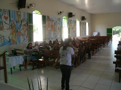Intercâmbio Missionário em Ponte Alta do Bom Jesus/TO