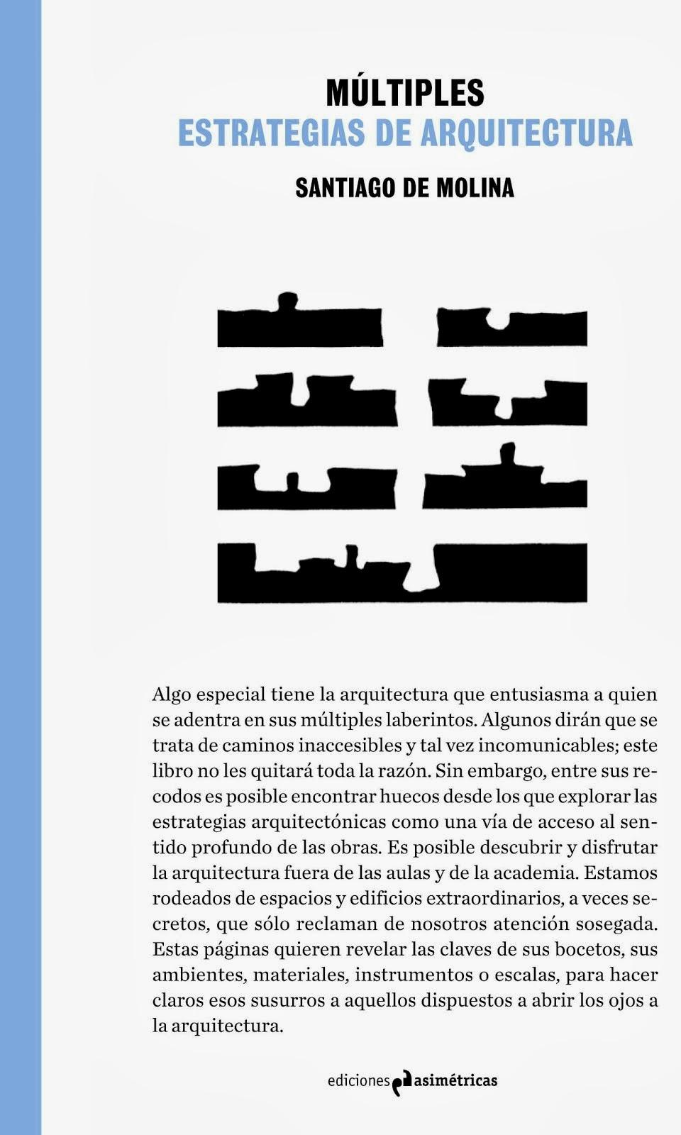 """PROXIMAMENTE EL LIBRO """"MULTIPLES. ESTRATEGIAS DE ARQUITECTURA"""""""