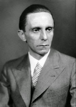 Joseph Goebbels, nazi